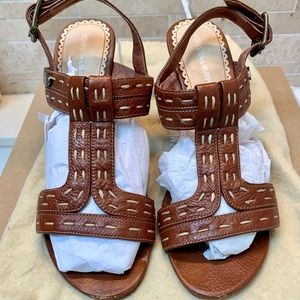 Johnston and Murphy wedges heels sandals shoes